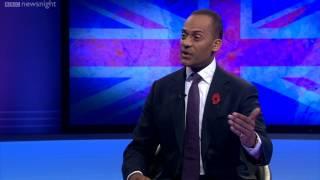 NEWSNIGHT: Paxman grills Adam Afriyie MP