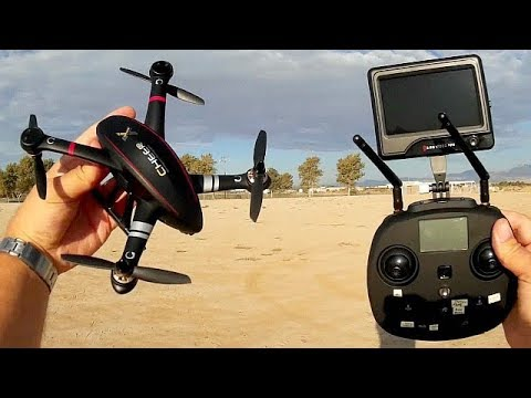 Cheerson CX-23 Small GPS FPV Explorer Drone Flight Test Review