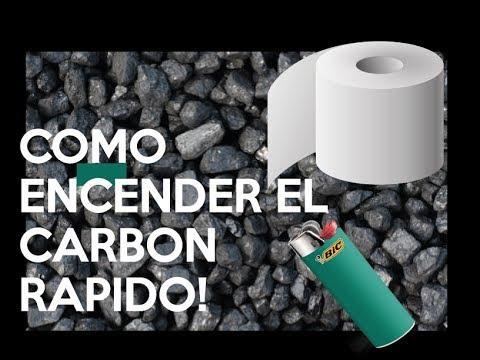 COMO ENCENDER EL CARBON RAPIDAMENTE !!