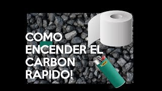 COMO ENCENDER EL CARBON RAPIDAMENTE !! thumbnail