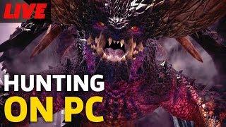 Monster Hunter World PC Closed Beta Gameplay Live