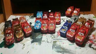 My Lightning Mcqueen Diecast Collection