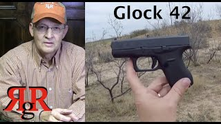 Glock 42 On the Range Review (with Kahr P380)