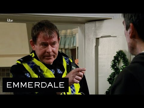 Emmerdale - The Police Arrive At the Dingle's Door to Open An Investigation