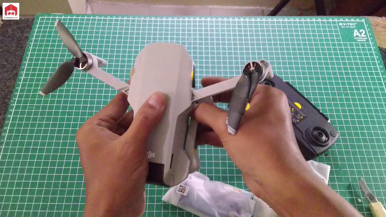 Unboxing DJI Mavic Mini The Everyday FlyCam Model MR1SD25