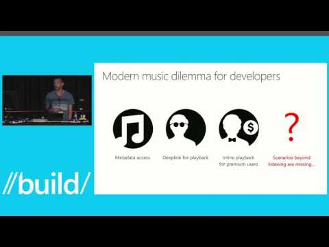 Build 2014 Xbox Music API – Music for Every App