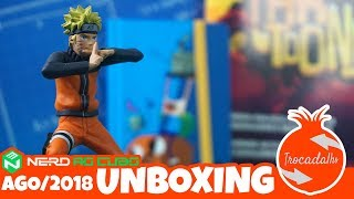 Nerd ao Cubo - August 2018 - Cartoon - Unboxing - Box Tema 40