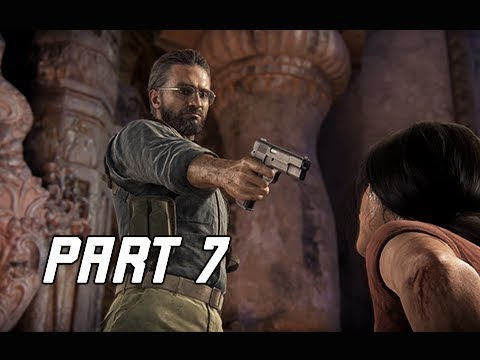 UNCHARTED THE LOST LEGACY Walkthrough Part 7 - The Expert (PS4 Pro Let's Play Commentary)
