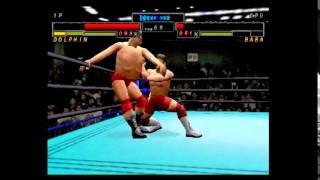 All Japan Pro Wrestling Featuring Virtua: Rise! Dolphin! (Match 2)
