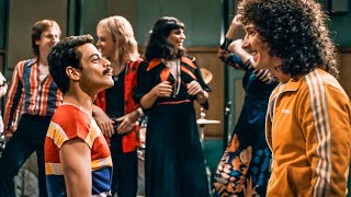 BOHEMIAN RHAPSODY - We Will Rock You Song Scene (2018) Movie Clip