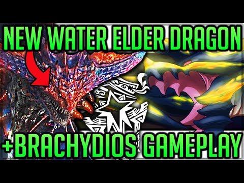 NEW ELDER DRAGON NAMIELLE - BRACHYDIOS GAMEPLAY - Everwyrm Identity - Monster Hunter World Iceborne!