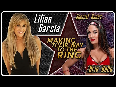 Brie Bella Interview | AfterBuzz TV's Lilian Garcia: Making Their Way To The Ring