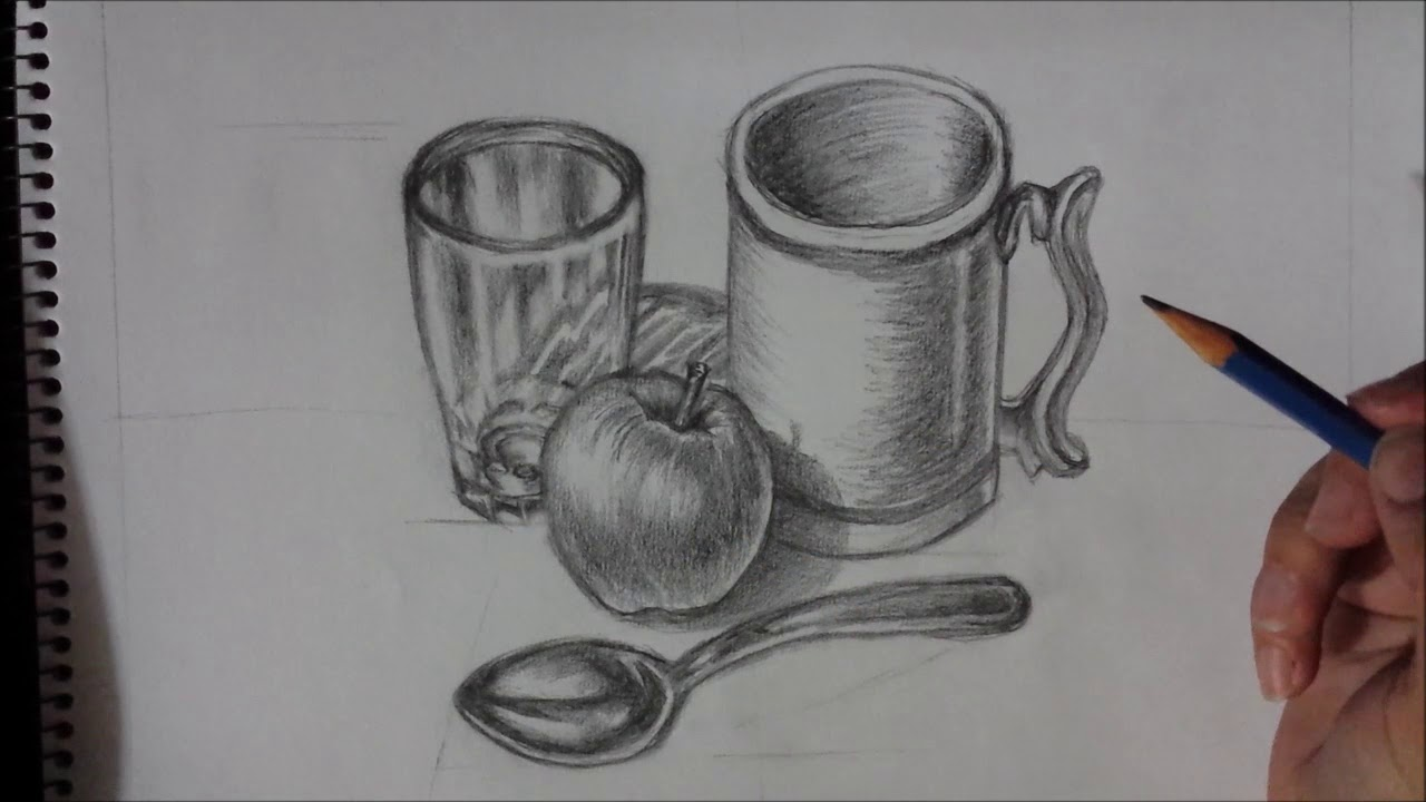 How to draw still life tutorial youtube.