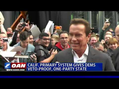 Calif. primary system gives Democrats a veto-proof, one-party state