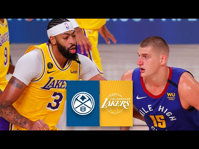 Denver Nuggets vs. Los Angeles Lakers [GAME 1 HIGHLIGHTS] | 2020 NBA Playoffs