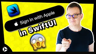 Gambar cover Social Sing In: Sign In with Apple SwiftUI Tutorial