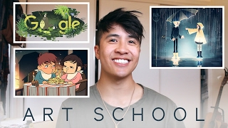 FIRST YEAR ART SCHOOL // Animation Projects at RMIT