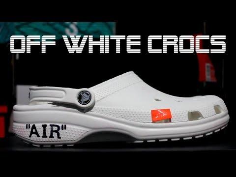 OFF WHITE CROCS!? BEST SNEAKER OF 2017
