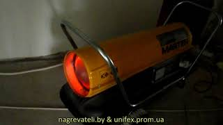 MASTER B 150 CED работа дизельной тепловой пушки(Включение дизельной тепловой пушки MASTER B150CED MASTER B 150 CED аренда: http://teplovye-pushki.com.ua/p3883291-master-150-ced.html ..., 2013-10-05T10:00:22.000Z)