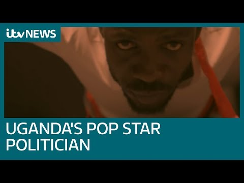 Uganda's pop star politician Bobi Wine 'attacked in custody' | ITV News