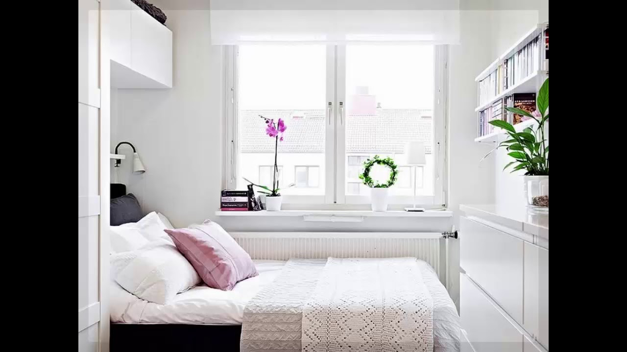 kleine schlafzimmer ideen ikea youtube. Black Bedroom Furniture Sets. Home Design Ideas