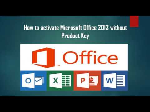 how to  microsoft office without a product key