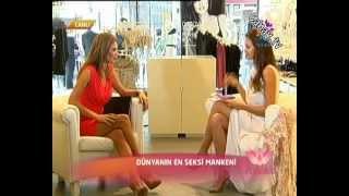 Tülin Şahin&İrina Shayk harika bacaklar