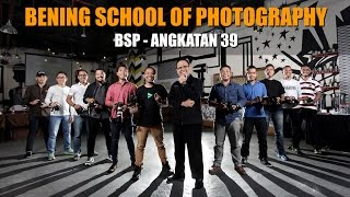Bening School of Photography (BSP) - Angkatan 39