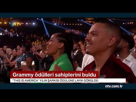 Grammy'ler sahiplerini buldu... (Törene Michelle Obama damga vurdu)