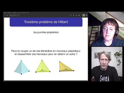 [Conférence SML] Troisième problème de Hilbert et puzzles polyèdres -- Sophie Morel