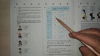 Türkiye Geneli / TÖDER Deneme Sınavı 2 / Fen Bilimleri / Soru Çözümleri