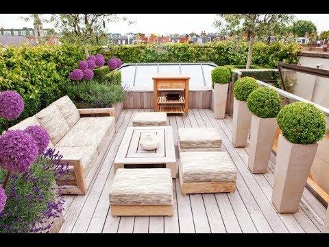 Inspirasi Taman Lantai 2 Rumah Moderen Minimalis