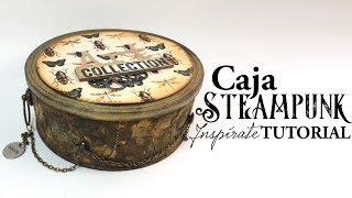 Caja estilo steampunk reciclando una lata de atún - TUTORIAL