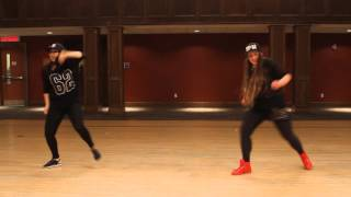 dancehall routine alkaline on fleek by olga chin