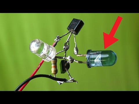 Remote signals throwing LED use as a ir receiving,how to