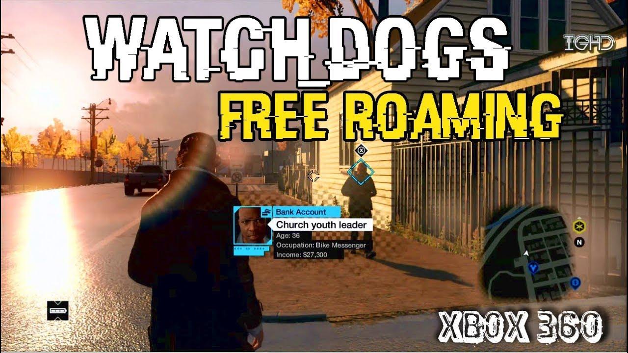 Watch Dogs Xbox  Gameplay Free Roam