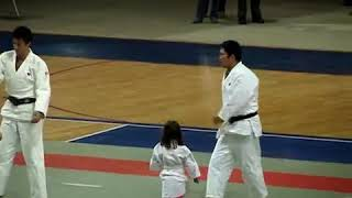 Japan Week   Martial Arts  Judo vs Little Girl