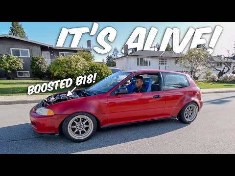 First Drive in Civic 2.0! Then This Happened🙈