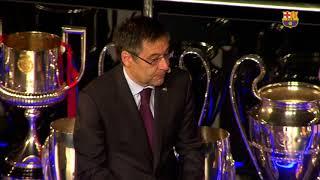 Acto de despedida de Andrés Iniesta en el Camp Nou #Infinit8Iniesta