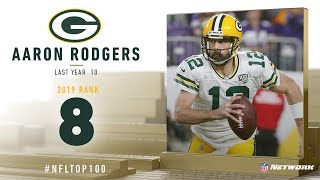 #8: Aaron Rodgers (QB, Packers) | Top 100 Players Of 2019 | NFL