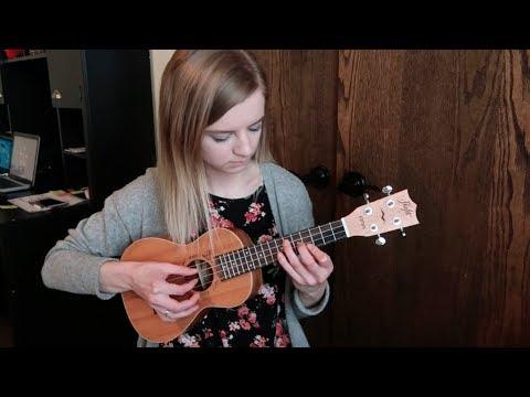 I played wii music on the ukulele (mii channel theme)