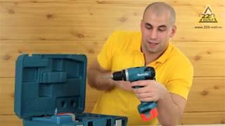 Шуруповерт аккумуляторный MAKITA 6271DWPE(Интернет-магазин