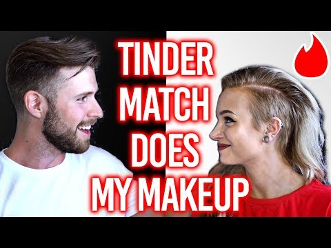 MY TINDER MATCH DOES MY MAKEUP thumbnail