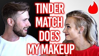 THE ONLY WAY TO END THE 'TINDER PICKS MY MAKEUP' TRILOGY - Part 3 h...