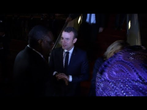 Macron arrives in Senegal for education conference