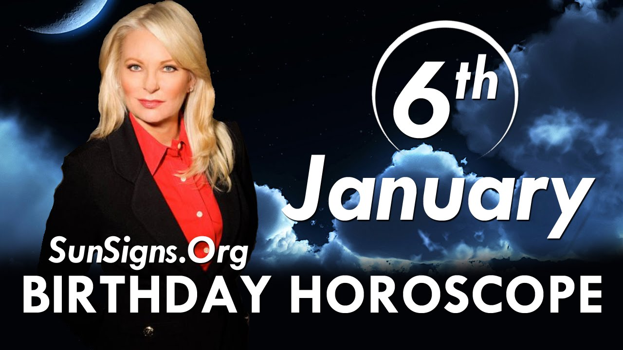 numerology horoscope by date of birth 6 january