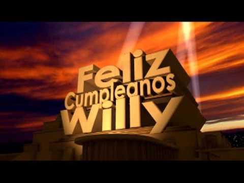 Feliz cumpleanos willy youtube - Feliz cumpleanos bebe 1 ano ...