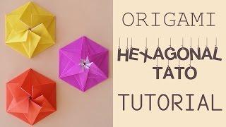Origami Hexagonal Tato Tutorial