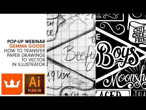 Paper to Vector Workflow in Illustrator | Webinar