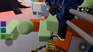 Roblox:Zombie Rush (Trying Level 725: Gatling Laser)